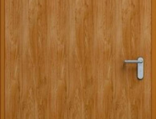 Drzwi stalowe 1010*2050 ECO ZŁOTY DĄB LEWE ZEWNĘTRZNE