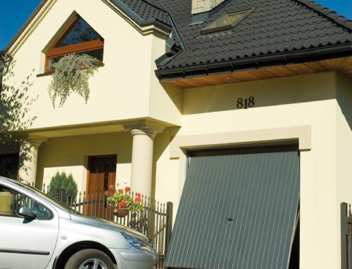 Brama uchylna PROGRES 2480*2150 RAL.7016 GRAFITOWY