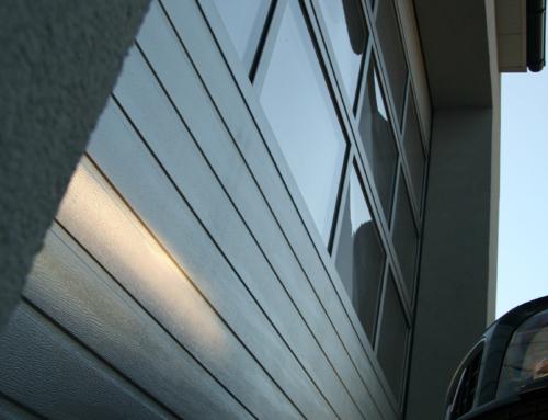Brama segmentowa UNIPRO 2000*2600 SSpN RAL.9016 + PANEL ALU
